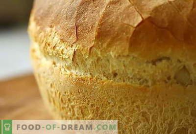 Brood in de oven - de beste recepten. Hoe goed en lekker brood in de oven te koken.