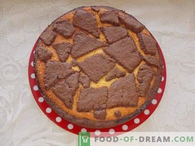 Giraffe Cheesecake en chocoladetaart