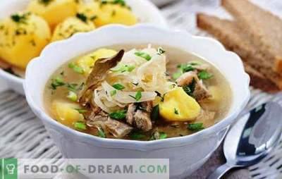 Soep in een slowcooker - rijke soep zoals van een Russische kachel. De beste recepten en functies van kooksoep in een multikoker