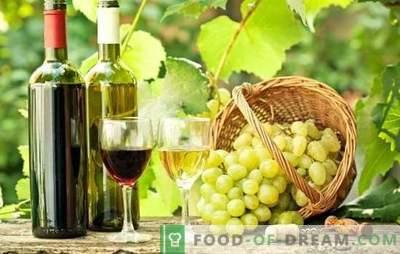 Wijn uit druiven is thuis handig! Geheimen van thuis wijn maken van druiven