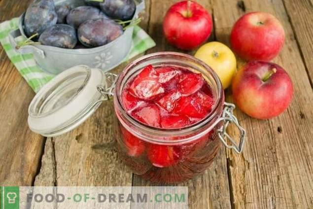 Pruimenjam met appels voor de winter