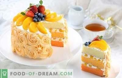 Perzikcake is een zoetekauw! Recepten van verschillende taarten met perziken voor heerlijke geneugten