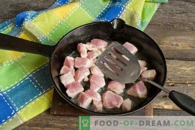 Goulash van varkensvlees met jus