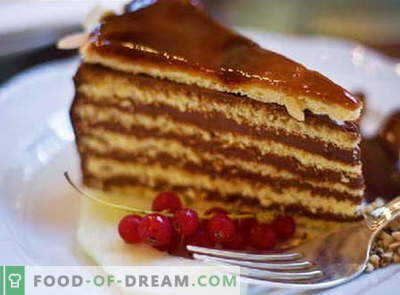 Cake gemaakt van de taart - de beste recepten. Hoe goed en lekker een cake maken van de taart.