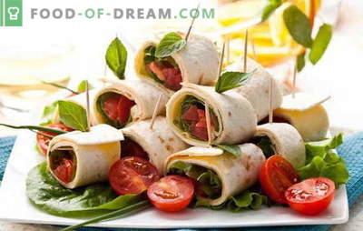 Wilt u iets lekkers koken in een haast? Snelle recepten voor lekker snel: een gast op de drempel
