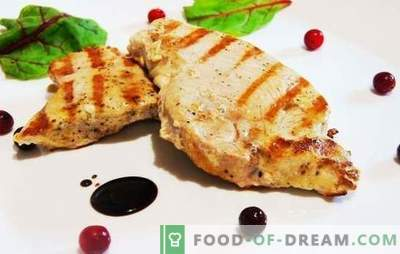 Турција стек може да биде сочно! Докажани рецепти од бисквити со зеленчук, цреши, мед, портокали