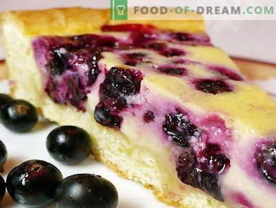 Currant Pie - de beste recepten. Hoe goed en smakelijk koken bessen taart.