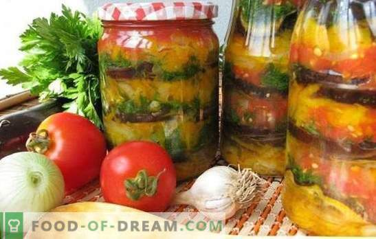 Armeense snack voor de winter: smakelijk, gemakkelijk, snel. De beste recepten van de Armeense snack voor de winter met tomaten, aubergines, courgette, peper