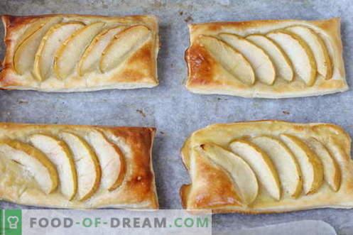 Dessert - trek met appels. Goedkoop en erg lekker!