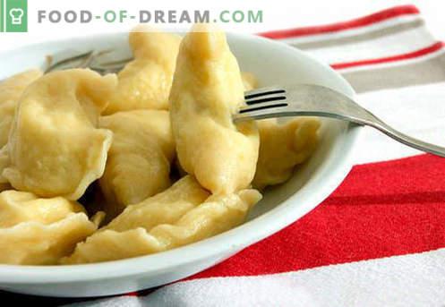 Попарените кнедли са най-добрите рецепти. Как да правилно и вкусно варени ябълки кнедли у дома.