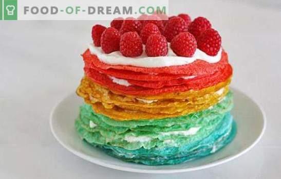 Pannenkoekenkoek met zure room: een ongewoon dessert of een originele snack? Pannenkoek-cake-recepten met zure room voor alle gelegenheden