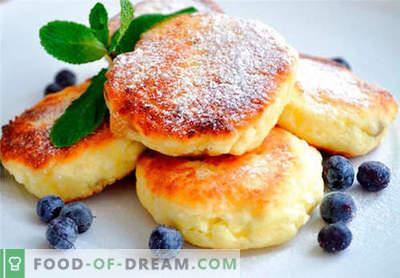 Klassieke cheesecakes - de beste recepten. Hoe snel en smakelijk klassieke cheesecakes koken.