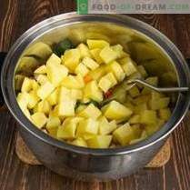 Sopa mexicana con maíz y frijoles - simple y asequible