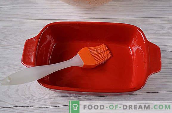Wortelbraadpan: smakelijk en smakelijk, bijna als een cake! De stap-voor-stap foto-recept van de auteur nuttige wortelbraadpan