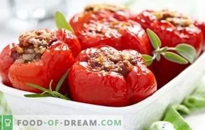 Stapsgewijs recept voor gevulde paprika's met gehakt. Hoe gevulde pepers te koken met gehakt op het fornuis en in de oven