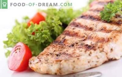 Kipfilet - een vakantie met een voedingssmaak. Methoden voor het bereiden van heerlijke kippenborst