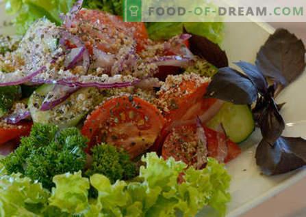 Georgische salade - de beste recepten. Hoe goed en smakelijk Georgische salade gekookt.