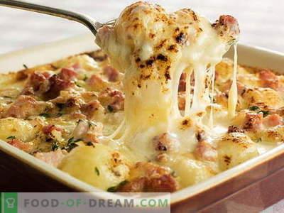 Franse aardappel - de beste recepten. Hoe aardige en smakelijke aardappelen in het Frans te koken.
