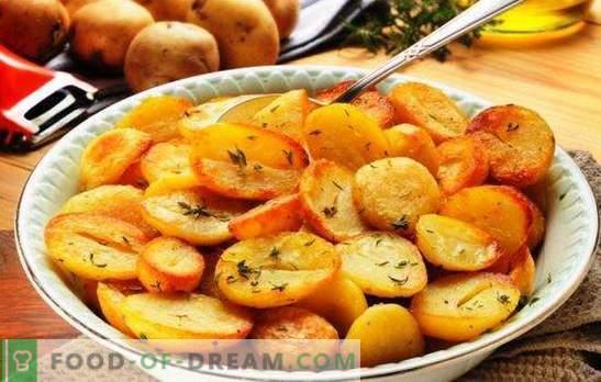 Gebakken aardappelen in een slowcooker: krokant, geurig. De beste recepten voor gebakken aardappelen in een slowcooker met uien, champignons, knoflook