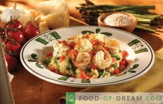 Zelfgemaakte risotto - een voorproefje van Italië met je eigen handen. Recepten, geheimen en tips fijnproevers: hoe risotto thuis te koken