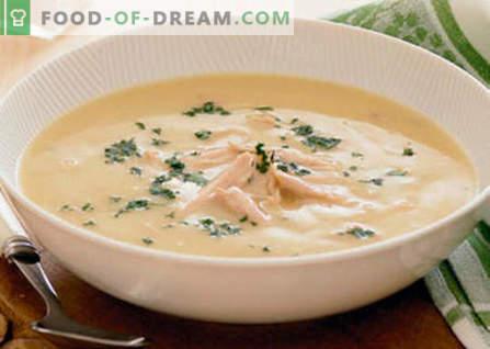 Kiproomsoep - de beste recepten. Hoe kippensoep goed en lekker koken.