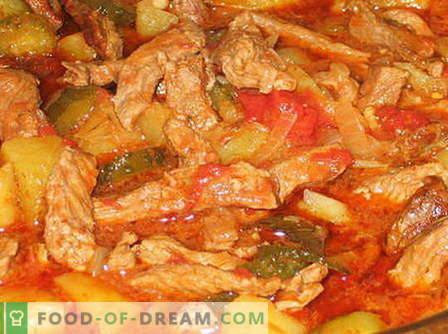 Azu van rundvlees - de beste recepten. Hoe goed en smakelijk koken van rundvlees
