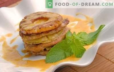 Kip met ananas in de oven is een geweldige manier om de gasten te verrassen en zichzelf te plezieren. De beste recepten voor kip met ananas in de oven
