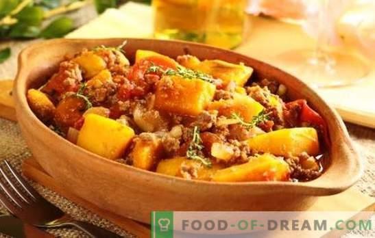 Varkensrollade in een slowcooker is een eenvoudig, bevredigend en smakelijk gerecht. Recepten gebraden met groenten, champignons, aardappelen en varkensvlees in een slow cooker