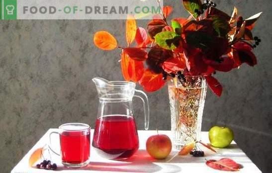 Compote van zwarte appels met appels voor de winter - minimaal gedoe, maximale smaak. Kok