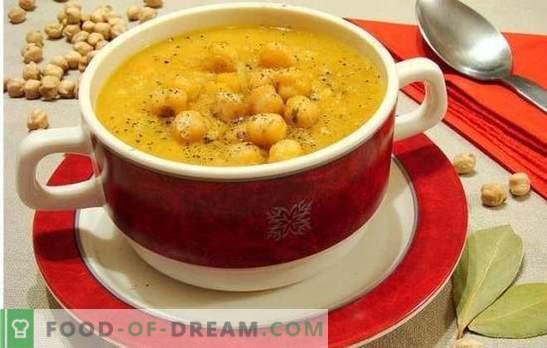 Chickpea Soup - Oosterse tonen in het alledaagse menu. Oude en nieuwe recepten voor lekkere, geurige en ongewone soep met kikkererwten