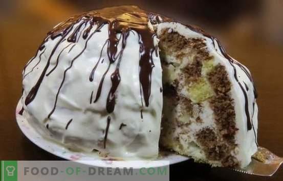 Pancho cake met ananas is een geweldig dessert op je tafel. De beste recepten van de Pancho-cake met ananas: eenvoudig en complex