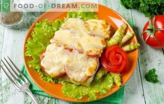 Tilapia met kaas is een delicaat visgerecht. Varianten van tilapia met kaas in beslag, in deeg, in de vorm van een rol, braadpan en steaks