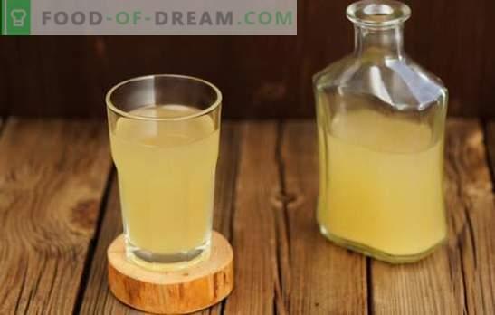 Opladen met opgewektheid en positief - kvass gemaakt van roggebloem! Kvass van roggemeel - de beste assistent van de gastvrouwen in de zomer