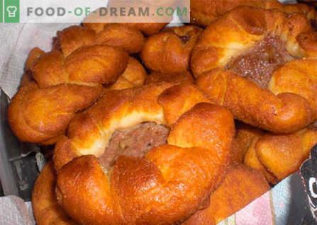 Vleesvlees - de beste recepten. Hoe goed en lekker om belyashi met vlees te koken.