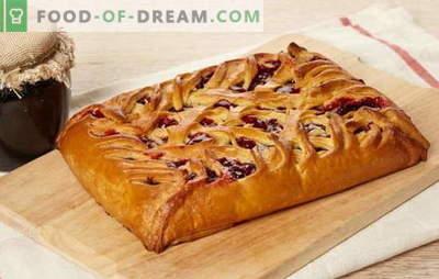 Com que recheio fazer um bolo em nata azeda: doce ou carne. Receitas de bolo de creme de leite de diferentes tipos de massa: autor