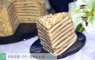 Cake in een pan met gecondenseerde melk is een uitkomst! Recepten voor honing, zure room, chocolade en kwarktaart in een pan met gecondenseerde melk