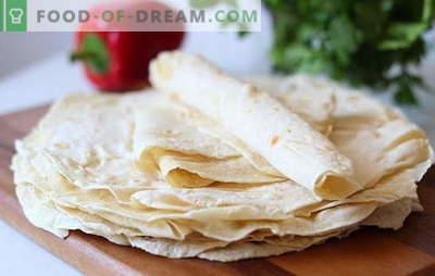 Armeens pitabroodje - recepten van de beste gerechten. Wat kan er van Armeense lavash worden gekookt? Recepten voor vakanties en het dagelijks leven: gewoon heerlijk