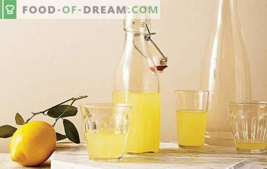 Citroentint: smakelijke en fascinerende details. Recepten van de meest populaire tincturen op citroen voor gezondheid en plezier