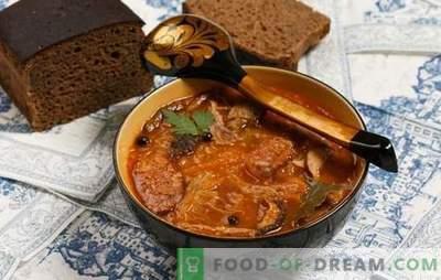 Typische fouten bij het koken van soep. Waarom soep smakeloos en lelijk?