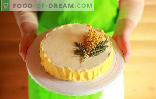 Cake Cream: stapsgewijze recepten voor zelfgemaakte desserts. Koken van zoete en lucht crèmes voor gebak met stap-voor-stap recepten