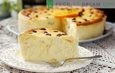 Dieetkwark braadpan: er is nergens meer bruikbaar! TOP-12 recepten voor het koken van caloriearme curry braadpan