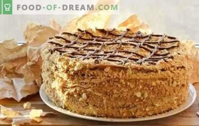 Napoleon-taart in stapsgewijze recepten. Varianten van een favoriete cake - stap-voor-stap recepten van de klassieke