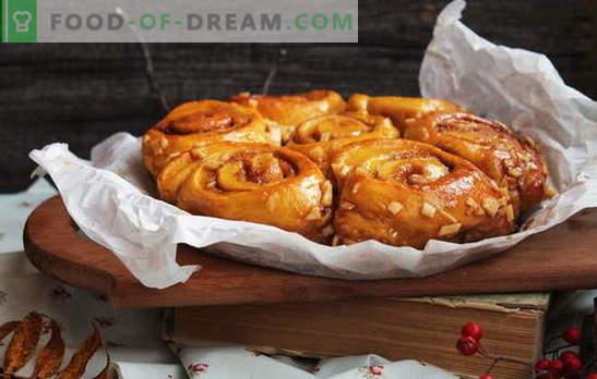 Broodjes met appels - geurige en aantrekkelijke gebakjes. Voor liefhebbers van broodjes met appels: recepten om uit te kiezen