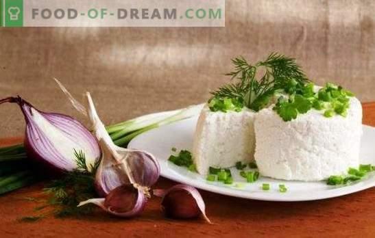 Geitenkaas is een gezond product. Welke gerechten kunnen worden bereid met geitenkaas?