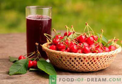 Cherrycompote - de beste recepten. Hoe goed en lekker compote gemaakt van kersen.