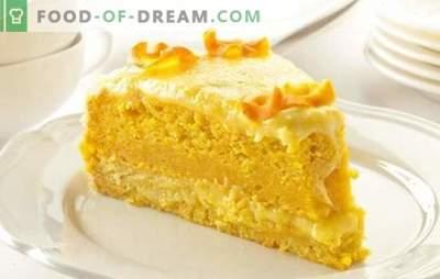 Magere cake thuis - bakken zonder eieren, melk en boter. Recepten van lenten cakes voor gelovigen die van snoep houden