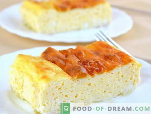 Weelderige omelet - bewezen recepten. Hoe goed en lekker een weelderige omelet koken.