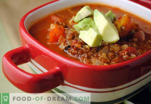 Lenten soep - bewezen recepten. Hoe te om correct en smakelijk kook lean soep.