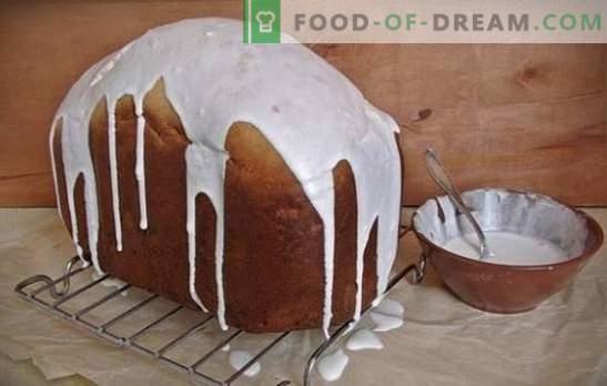 Paascake in de broodbakmachine - werkt altijd! Hoe maak je een weelderige taart in de broodbakmachine: recepten met gedroogd fruit, citrus, honing