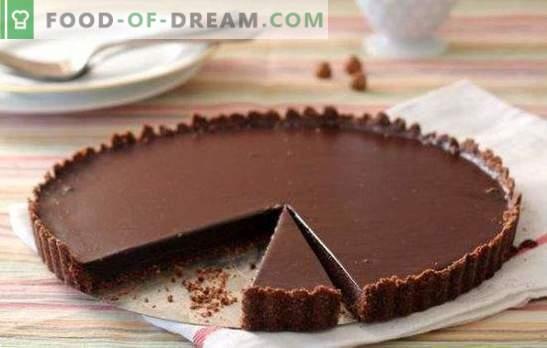 Chocoladetaart met noten is een zoet sprookje! Bewezen recepten voor de lekkerste en meest smaakvolle chocoladetaarten met noten
